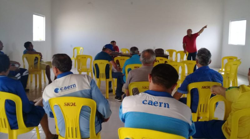 Debate em Caicó sobre definição da escala 12 x 36 na manutenção
