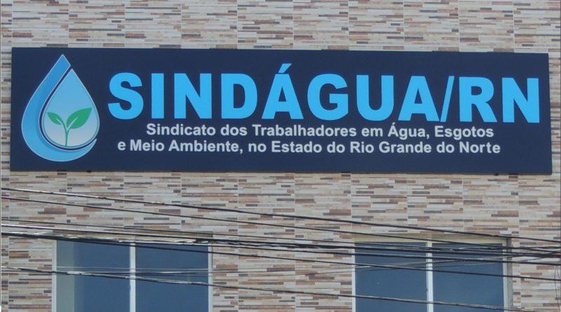 Sede do Sindágua/RN está de novo Visual