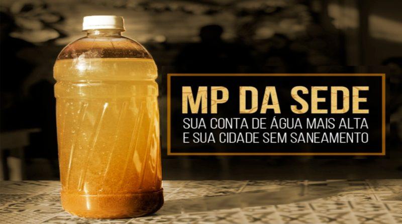 Entidades do saneamento pedem  suspensão de MP da Sede e da Conta Alta