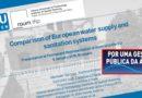 Novo estudo confirma superioridade da gestão pública da água