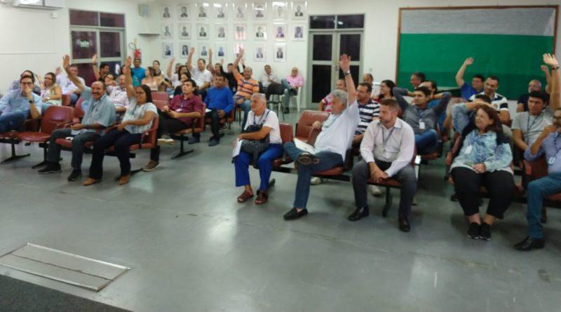 Trabalhadores da Sede da CAERN estão em campanha salarial
