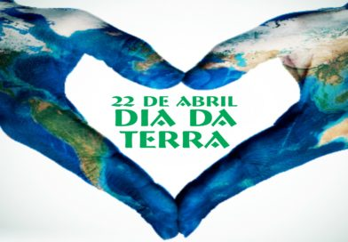 O Dia da Terra é comemorado anualmente em 22 de abril, em todo planeta