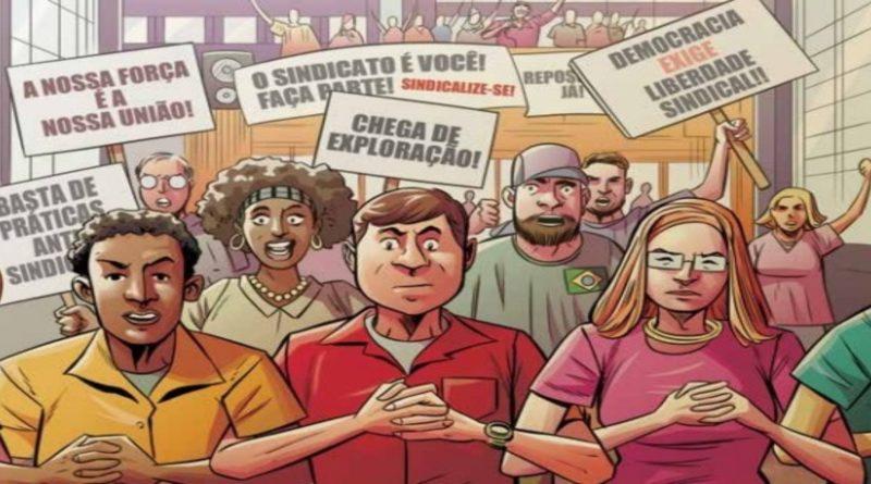 MPT lança revista em quadrinhos sobre a importância dos sindicatos – Acesse a publicação