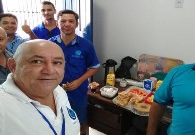 Café da manhã com os caernianos em Pipa