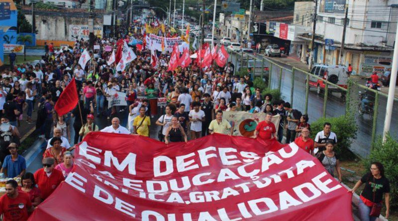 Mobilização de luta em defesa da Educação e contra a Reforma da Previdência