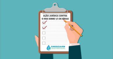 AÇÃO JURÍDICA CONTRA  O INSS SOBRE 1/3 DE FÉRIAS É PROTOCOLADA
