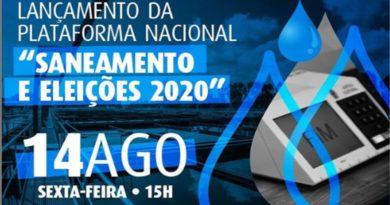 """Trabalhadores do saneamento irão lançar a Plataforma Nacional """"Saneamento e Eleições 2020"""""""