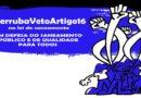#VetoArtigo16: Congresso deve votar dia 4/11 vetos à lei do saneamento