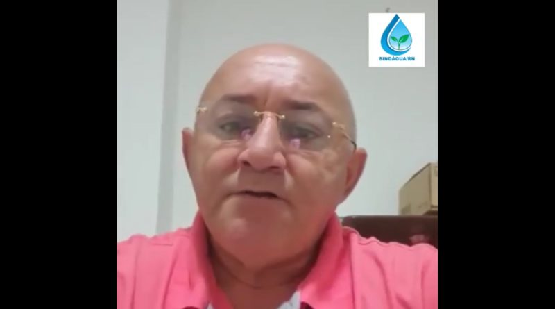 Informes da luta do Sindágua/RN