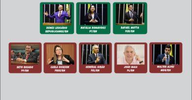 Veja como cada deputado  federal do RN votou no veto do novo marco de saneamento