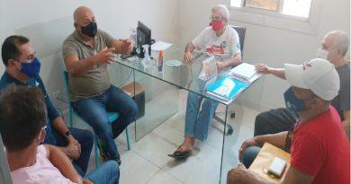 Sindágua/RN recebe visita da Assec Mossoró