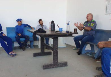 Trabalhadores da GHP – Perfuração  de poços da Caern recebem Sindágua/RN