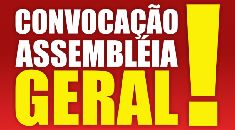 Retificação do Edital de convocação para a Assembleia Geral Extraordinária – 1º Termo Aditivo ao ACT 2020-2022 CAERN