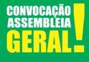 Convocação para as assembleias na Gerência de Manutenção Natal Norte, no Parque de Material e escritório local