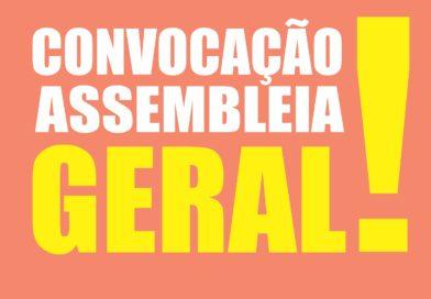 Convocação para as Assembleia na Regional Serão Central (Assú) e em Macau
